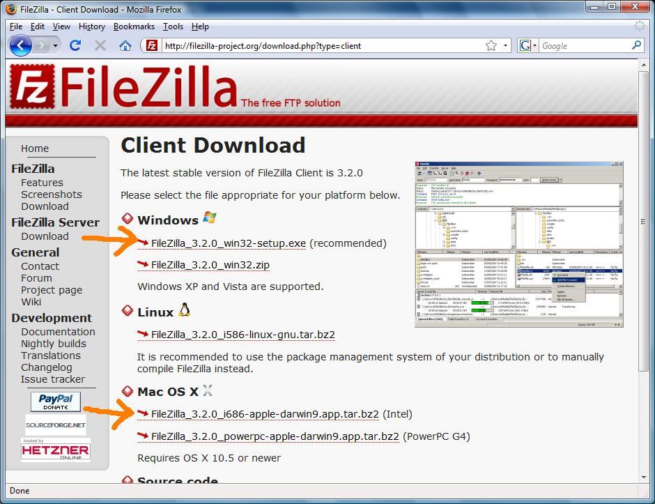 filezilla ftp free download for windows xp